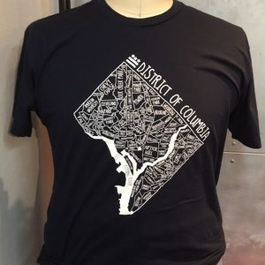 DC MAP T SHIRT